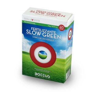 Fertilizzante per prato Bottos Slow Green