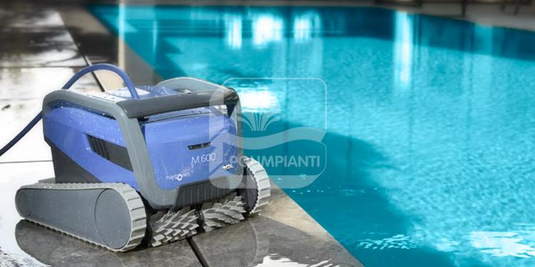Robot pulitori per piscina Dolphin linea Premium